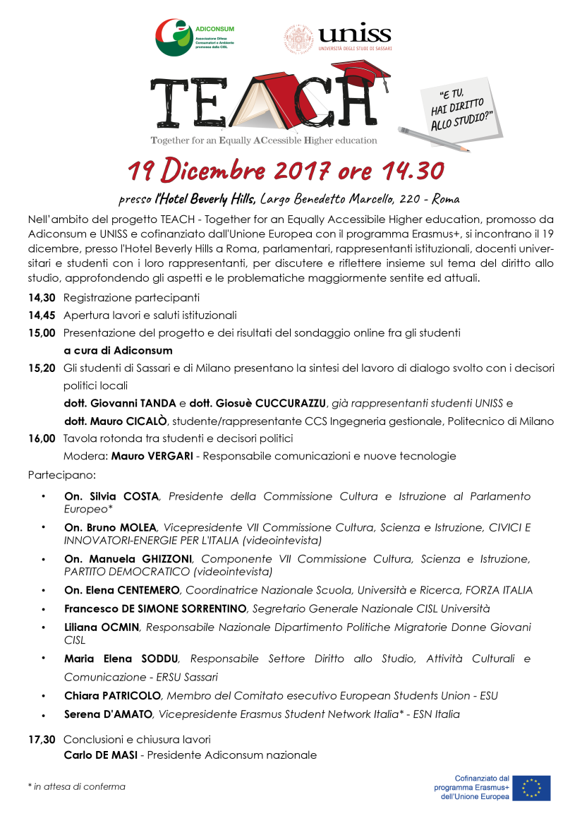 Programma Teach 19 dicembre ULTIMO